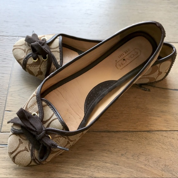 cc891eb5 Coach Josie Signature C Ballet Flats 9